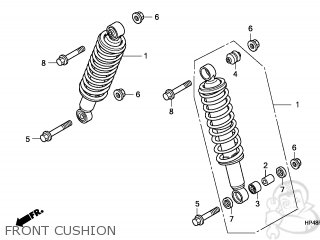 CUSHION ASSY,FR