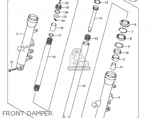 Damper Assy, Fr Fork, R photo