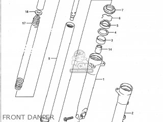 Damper Assembly, Right photo
