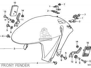FENDER SET,*R258*