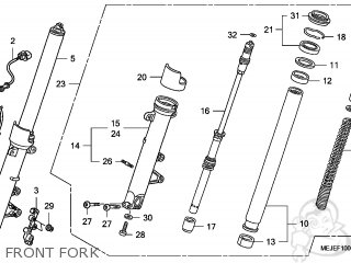 Fork Assy, L Front photo