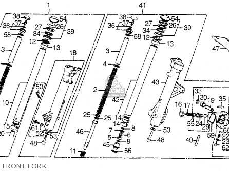 Stabi Fr Fork For Vt750c Shadow 1983 D Usa