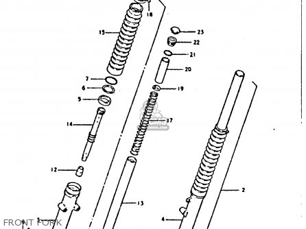 Spacer, Front Fork Spring photo