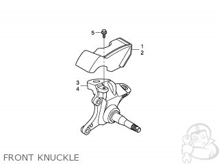 KNUCKLE COMP,R FR