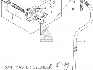 Cylinder Assy, Front Master photo