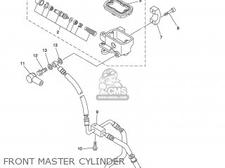 (3D82587001) MASTER CYLINDER SUB ASSY