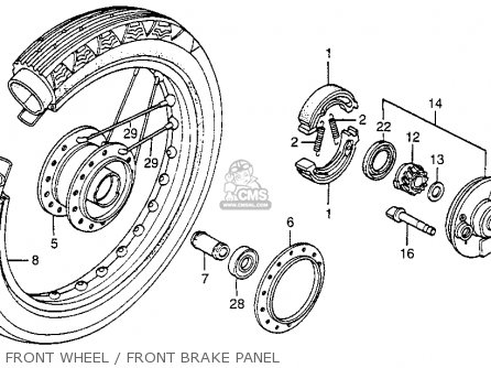 (45120GC1003) SHOE,COMP,BRAKE