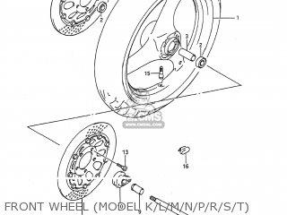 Wheel, Front (mt3.00x17) photo