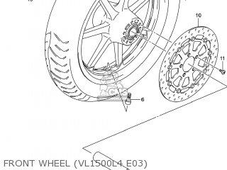 Wheel, Front(17m/cxmt3.00) photo