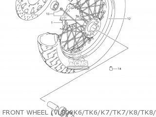 Rim, Fr Wheel(16m/cxmt3.00) photo