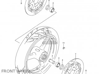 Wheel, Fr(17m/cxmt3.50) photo