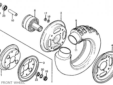 Tube, Tire(3.50-8) photo