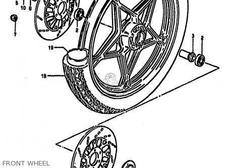 Wheel, Front (19x1.85) (gray) photo