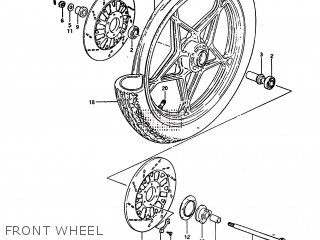 Casting Wheel, Front 1.85 photo