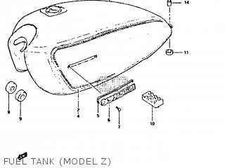 Cap Set, Fuel Tank photo