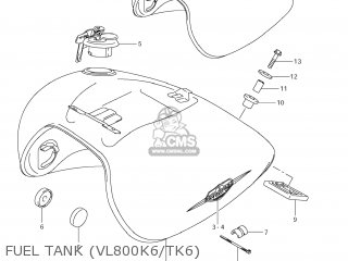 Tank Assy, Fuel(gray) photo
