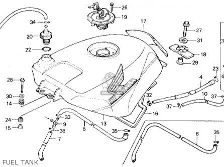 Honda VFR 400 ремонт крана бензобака #6