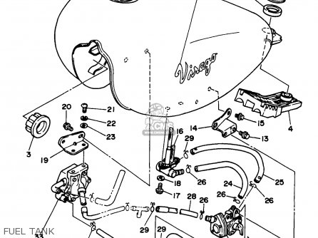 Xv250 Wiring Diagram