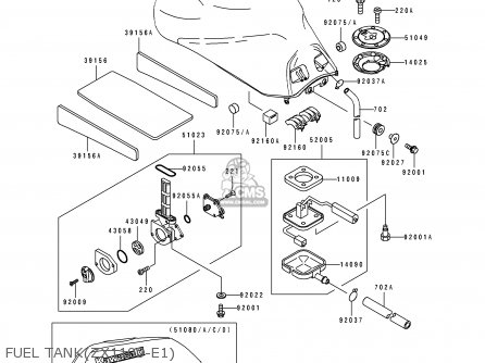 (51023-1260) Fuel Tap Assembly photo