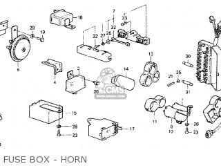 [DIAGRAM_38YU]  FUSE BOX,MAIN for CIVIC 1200 EB2 1977 3D HMT HONDA MATIC (KB KC KW KU KT KS  KQ KP - order at CMSNL | Kw Fuse Box |  | Cmsnl.com