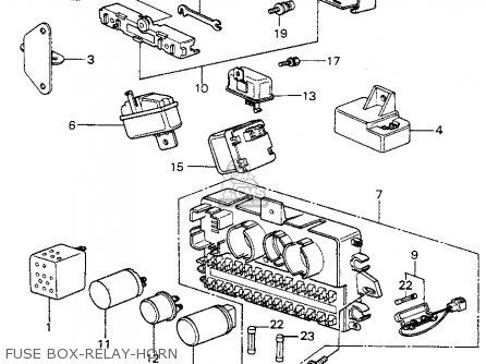 Boxmain Fuse For Civic 1982 C 4dr1500 Kakhkl