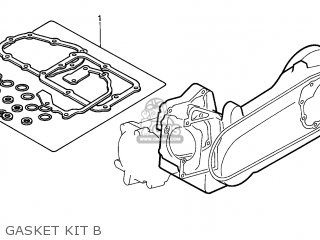 (19229KAB020) GASKET,WATER PUMP