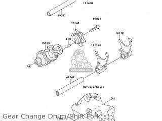 (131450050) CAM-CHANGE DRUM
