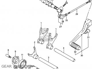 Retainer, Gear Shift Fork Shaft photo
