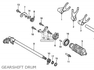 DRUM,GEAR SHIFT