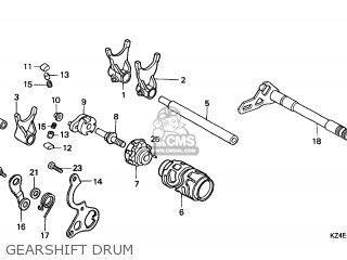 SHAFT,SHIFT FORK