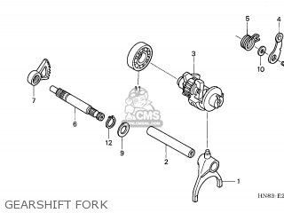 (24211HL1A00) FORK,GEAR SHIFT