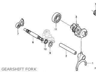 SPINDLE,GEAR SHIF