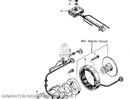 Wiredynamo Lead For Kz400s2 Special 1976 Usa Canada