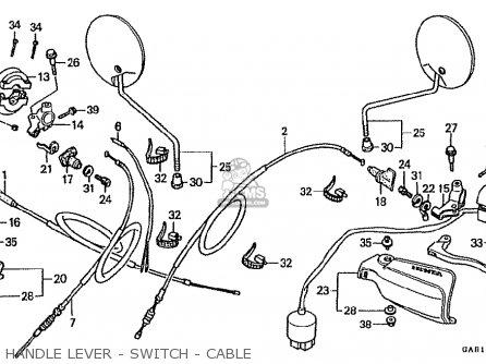 (17910-GAR-900) CABLE COMP.,THROT