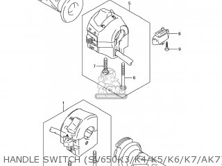 Switch Assy, Handle, L photo