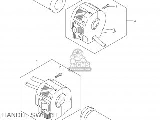 Switch Assy, Handle, R photo