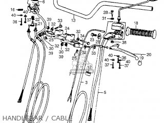 (17910-341-000) CABLE A,THROTTLE