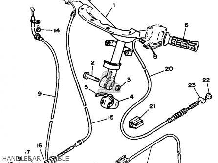 Yamaha 1991 Cy50b Cy50 Jog Scooter Motorcycle Parts