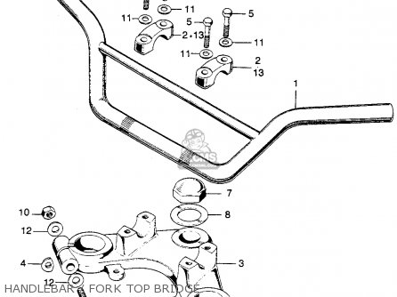 (53230110305) BRIDGE,FORK TOP