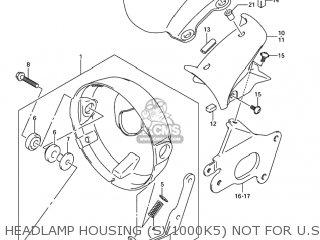 Cover, Headlamp Hsg, L photo