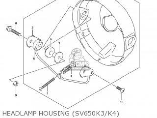 Housing Assy, Headlamp photo