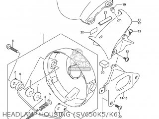 Housing Assy, Headlamp photo