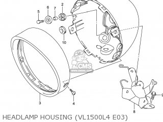 Housing, Headlamp photo