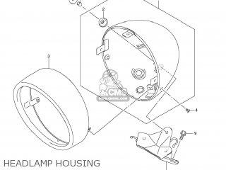 HOUSING ASSY,HEADLAMP