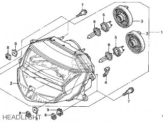 (33110S1AG51) BULB,HEAD LIGHT (
