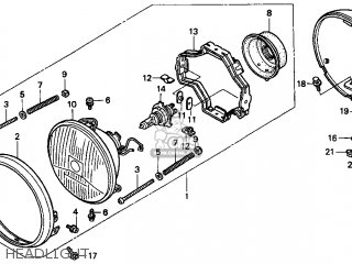 HEADLIGHT ASSY.(1