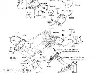 HOLDER, HEAD LAMP