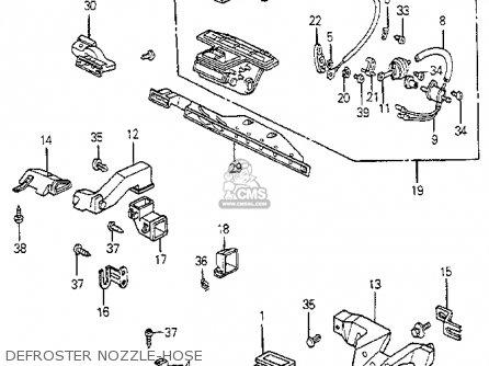 Honda Accord Engine Carburetor