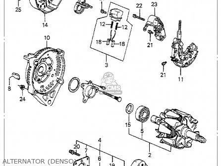 Honda Ca77 Engine Diagram together with Hitachi Alternator Wiring Diagram further Cummins 6bta Specifications besides 3 Point Radio Harness also Universal Alternator Wiring Diagram. on wiring diagram for denso alternator