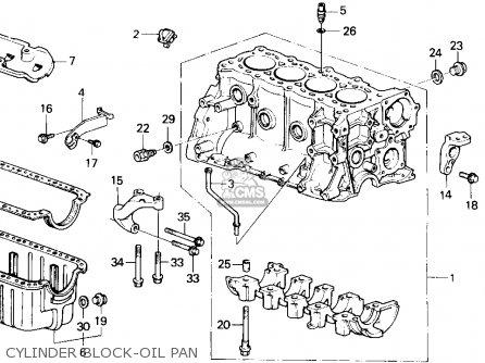 honda accord 1986 g 4dr lxi ka parts list partsmanual. Black Bedroom Furniture Sets. Home Design Ideas